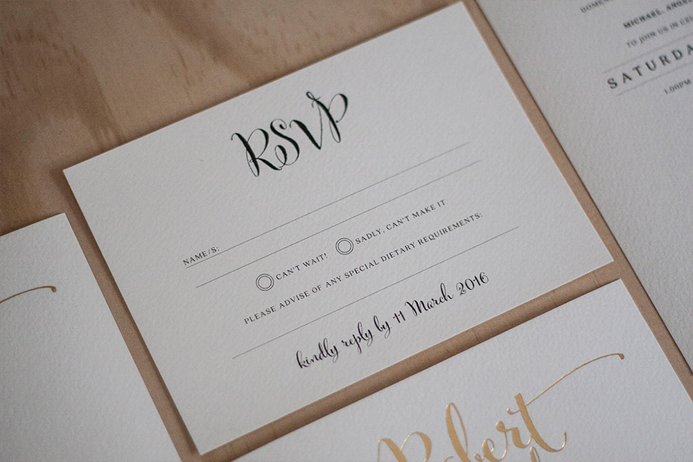 Wedding Invitation Custom Package Complete