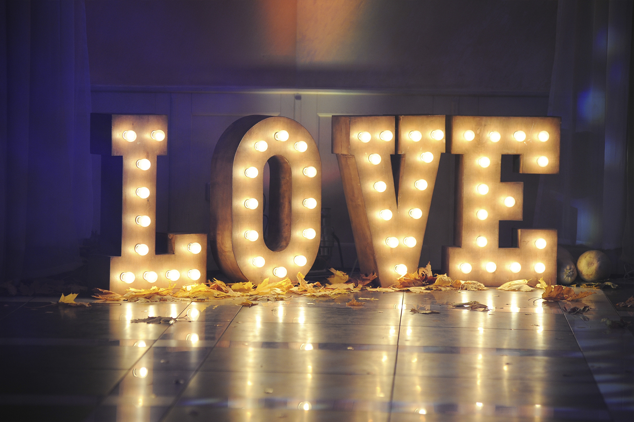 Giant Wedding Letter Hire