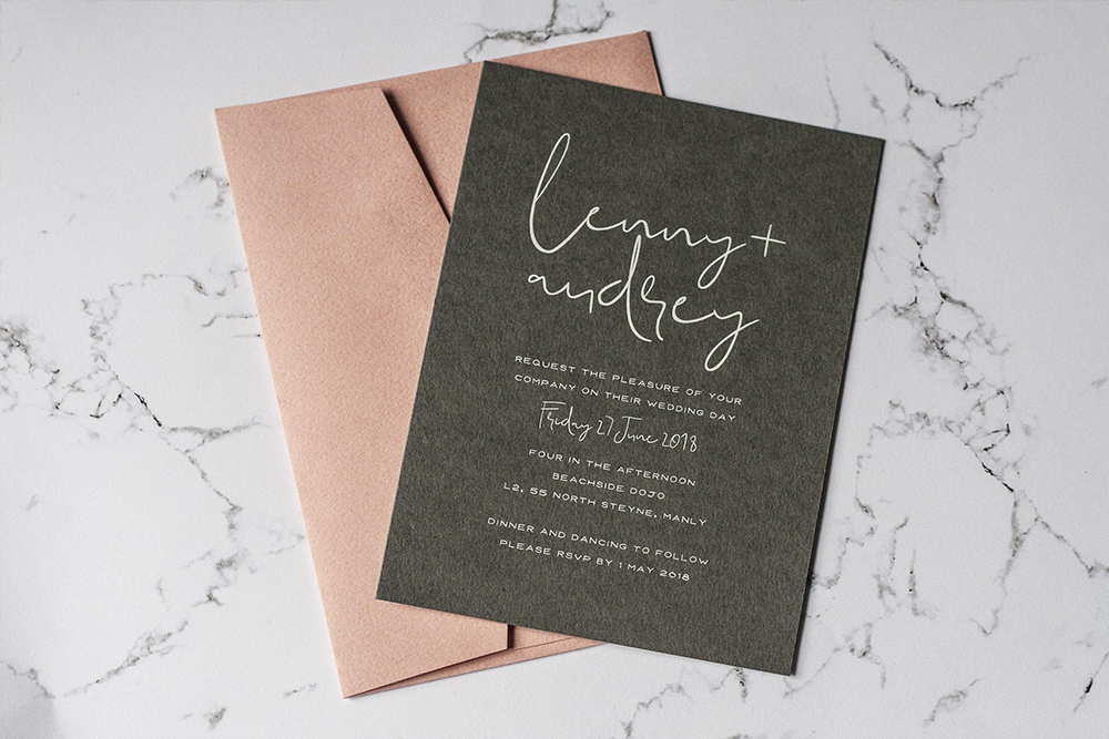Wedding Invitation Custom Package 2